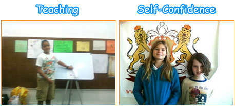 kids teaching selfconfidence